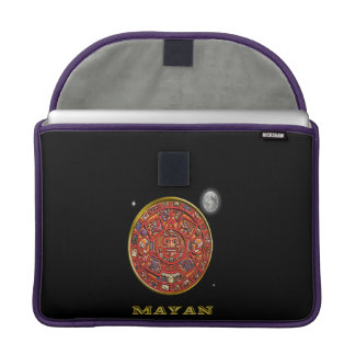 Mayan Calendar products Sleeve For MacBook Pro