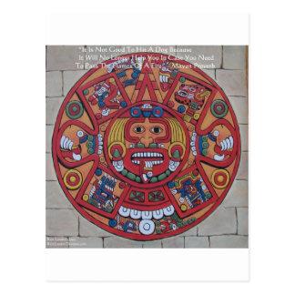 Mayan Calendar & Proverb Gifts Cards & Tees