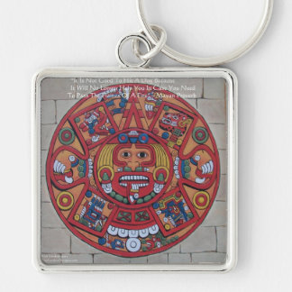 Mayan Calendar & Proverb Gifts Cards & Tees Keychain