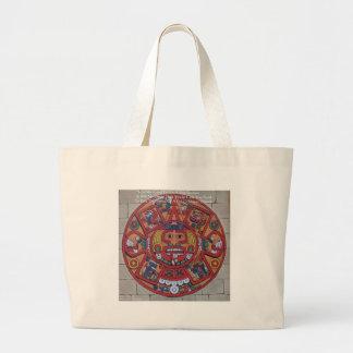Mayan Calendar & Proverb Gifts Cards & Tees Large Tote Bag
