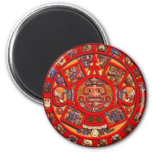 Mayan Calendar Refrigerator Magnets