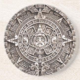 Mayan Calendar Sandstone Coaster