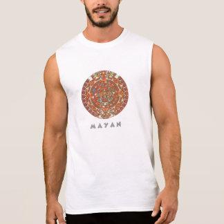 Mayan Calendar Sleeveless T-shirts