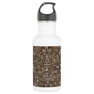 Mayan Calendar Stainless Steel Water Bottle