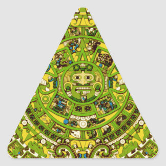 mayan calendar triangle sticker