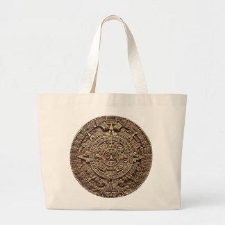 Mayan Calendar Stone 12.21.2012 Large Tote Bag