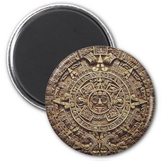 Mayan Calendar Stone 12.21.2012 Refrigerator Magnet