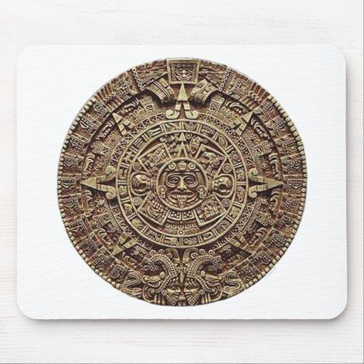 Mayan Calendar Stone 12.21.2012 Mousepad