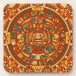 'Mayan Calendar Stone' Beverage Coaster