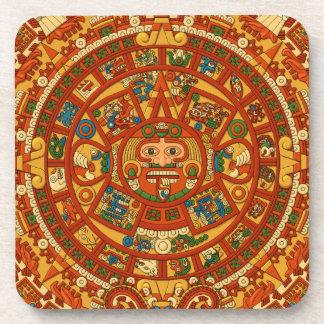 'Mayan Calendar Stone' Coasters