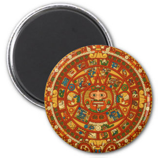 'Mayan Calendar Stone' Fridge Magnet