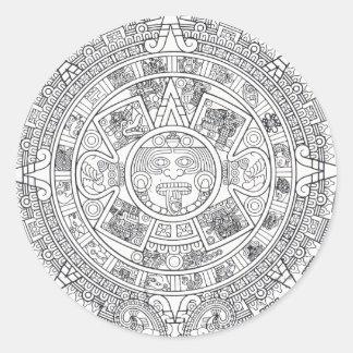 'Mayan Calendar Stone' Sticker