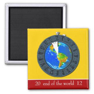 Mayan Calendar Stopwatch Party Favor Magnet