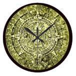 mayan calendar wall clocks