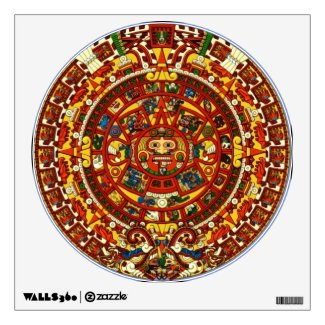 mayan calendar wall decal