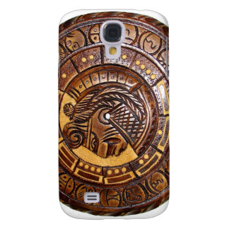 Mayan Calendar with a hole in center Galaxy S4 Cover