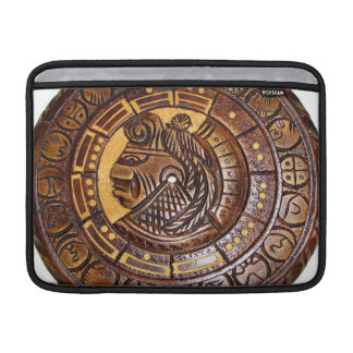 Mayan Calendar with a hole in center Sleeves For MacBook Air