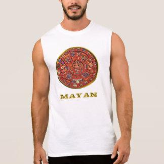 "Mayan calendar woman""s clothing sleeveless shirt"