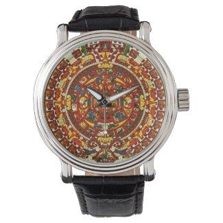 mayan calendar wrist watch