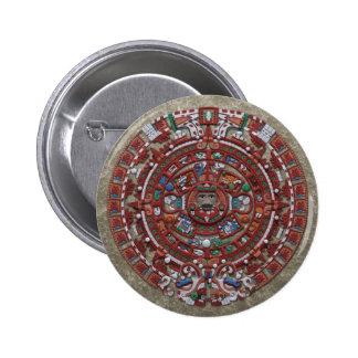 Mayan Calender 2 Inch Round Button