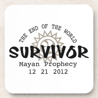 Mayan Calender End of the World 2012 Beverage Coaster