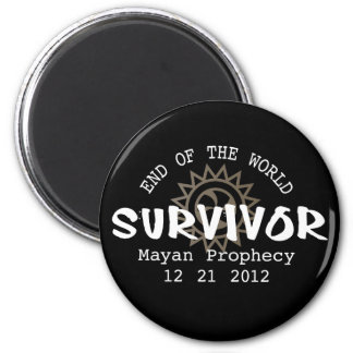 Mayan Calender End of the World 2012 2 Inch Round Magnet