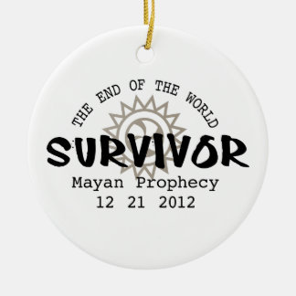 Mayan Calender End of the World 2012 Christmas Ornament