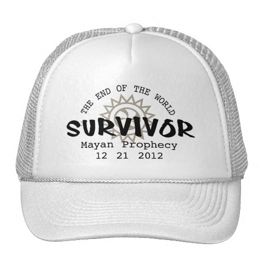 Mayan Calender End of the World 2012 Trucker Hat