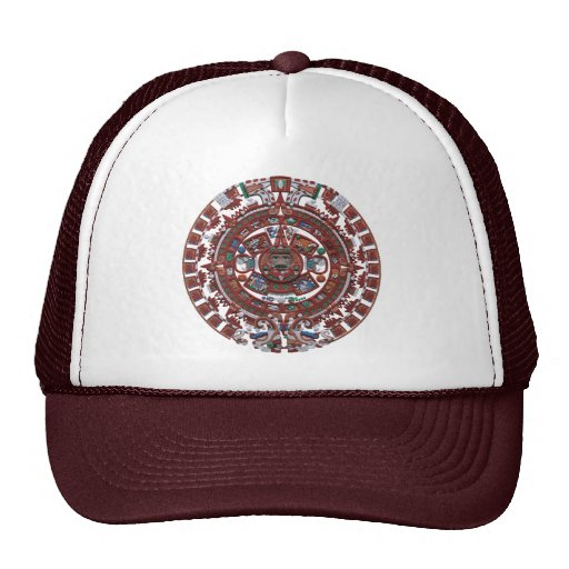 Mayan Calender Trucker Hats