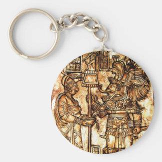Mayan Carving Photo Series #1 Keychain