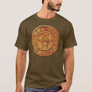 Mayan Cat Calender T-Shirt