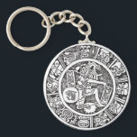 "Mayan circle, Mexican hieroglyph(Maya) Keychain<br><div class=""desc"">The&#160;Mayan script,  also known as&#160;Mayan glyphs&#160;or&#160;Mayan hieroglyphs,  is thewriting system&#160;of the&#160;Maya civilization&#160;of&#160;Mesoamerica,  presently the only Mesoamerican writing system&#160;that has been substantially deciphered.</div>"
