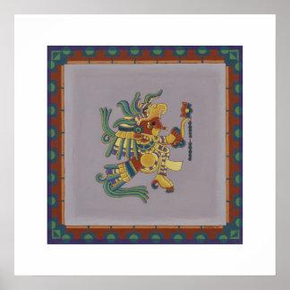 Mayan Codex Nuttall 1 Posters
