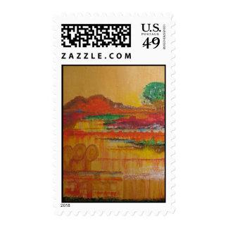 Mayan Dawn 2 Postage Stamp