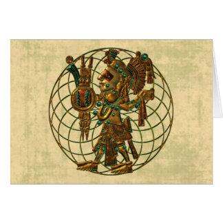 Mayan Deity 2 Card