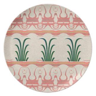 Mayan Design Melamine Plate