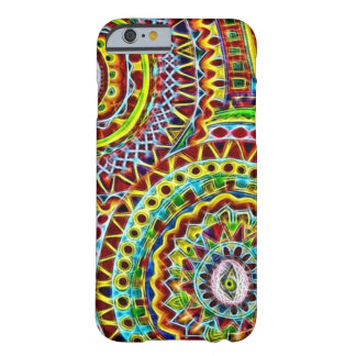 Mayan Disguise Fractal Barely There iPhone 6 Case