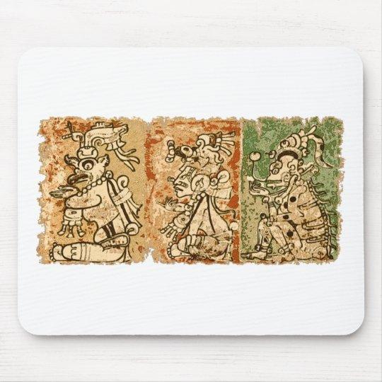 Mayan Dresden codex Mouse Pad