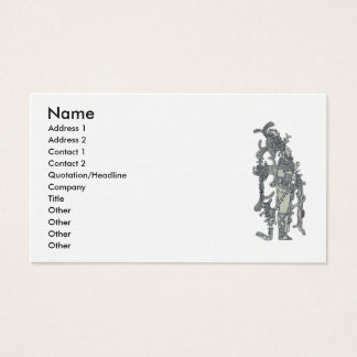 Mayan Dress Business Card