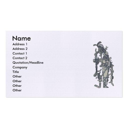 Mayan Dress Business Card Templates