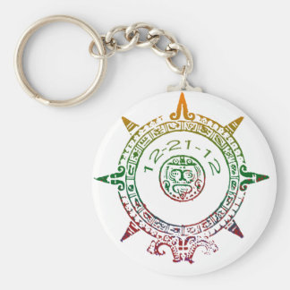 Mayan End of the World Key Chain
