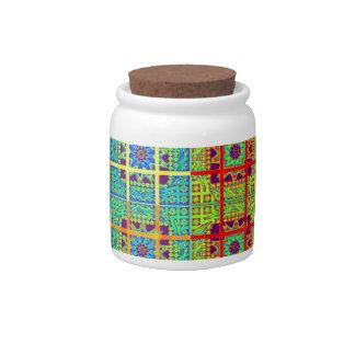 Mayan ethnic tribal pattern.jpg candy jars