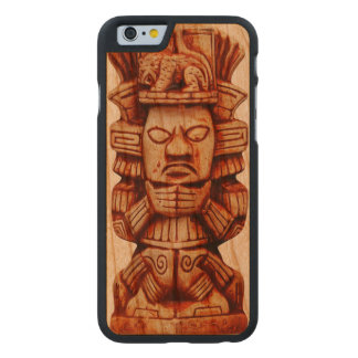 Mayan Figurine Carved® Cherry iPhone 6 Case