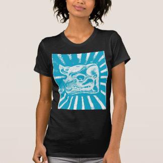 mayan glyph (blue) tee shirt