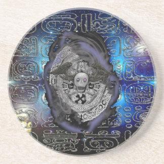 mayan glyph coaster