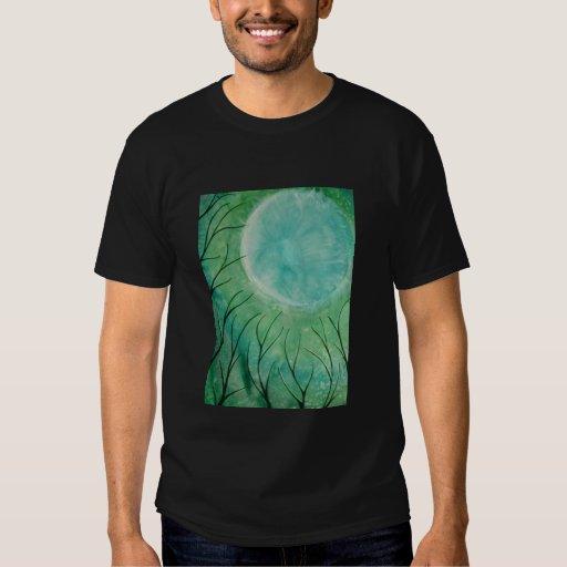 mayan green moon T-Shirt
