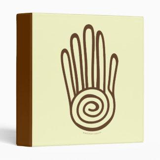 Mayan Hand - Brown (Digital) Avery Binder