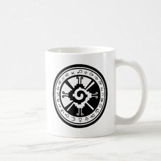 Mayan Hunab Ku Creator & Planetary Symbols Coffee Mug