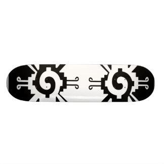 Mayan Hunab Ku Skateboard