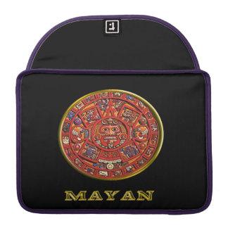 Mayan Indian art MacBook Pro Sleeves